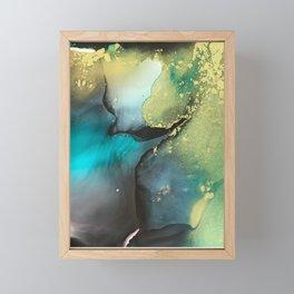 Oil Spill Framed Mini Art Print
