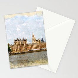 The Palace of Westminster Stationery Cards