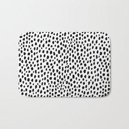 Dalmatian Spots (black/white) Badematte