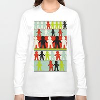 equality Long Sleeve T-shirts featuring Equality by Hilka Zimmerman