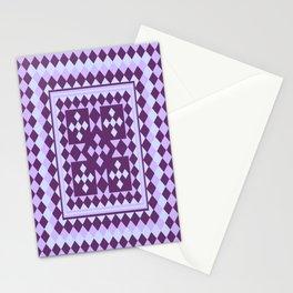 Lavender Patchwork Quilt Stationery Cards