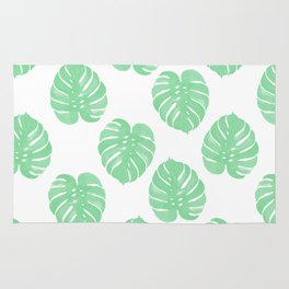 Palm Leaf indoor house plant hipster cheese plant palm leaf tropical vibes Rug