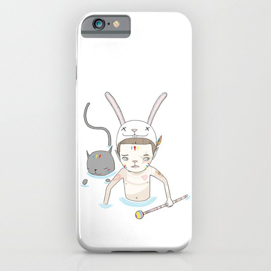 OVER THE BLACK POND iPhone & iPod Case