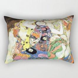 Gustav Klimt The Maiden Rectangular Pillow