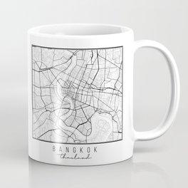 Bangkok Thailand Street Map Coffee Mug