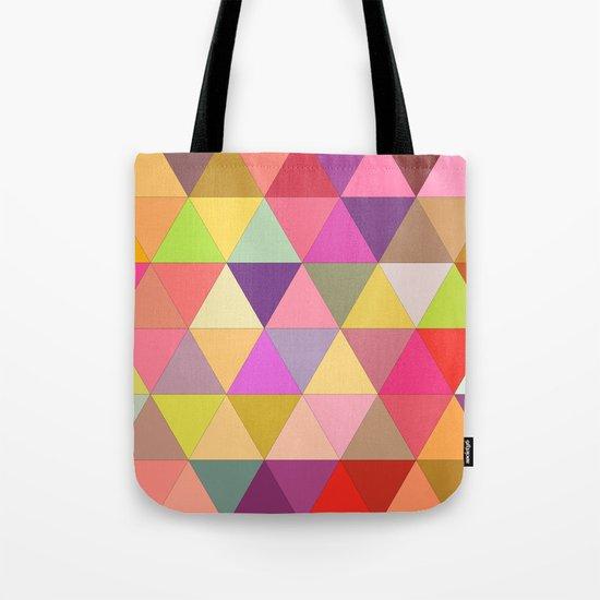 Happy geometry Tote Bag