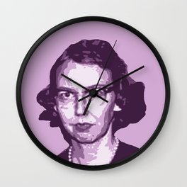 Flannery O'Connor Wall Clock