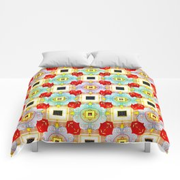 Embellecimiento Pattern Comforters