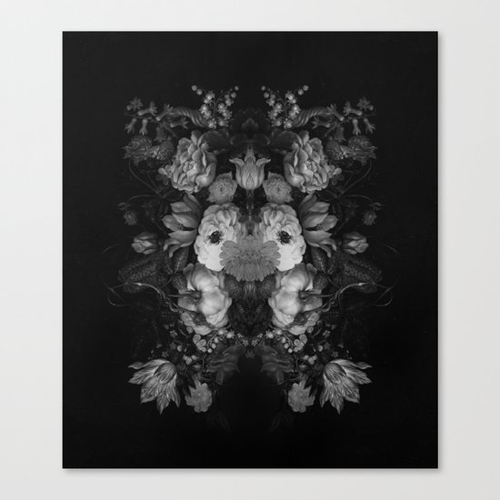 Botanical Darkness Canvas Print