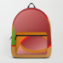 The pushovers on orange ... Backpack
