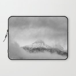 Peak in the clouds Laptop Sleeve