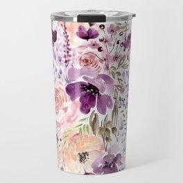 Floral Chaos Travel Mug