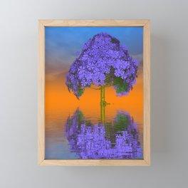 strange light somewhere -23- Framed Mini Art Print