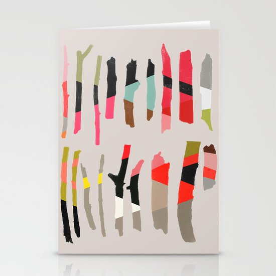 painted twigs 1 Stationery Cards