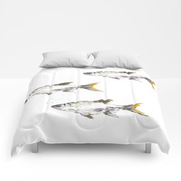 Swim Free Fishy Comforters