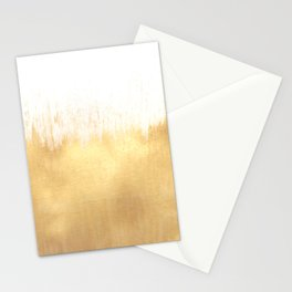Brushed Gold Stationery Cards