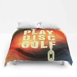 Play Disc Golf Comforters