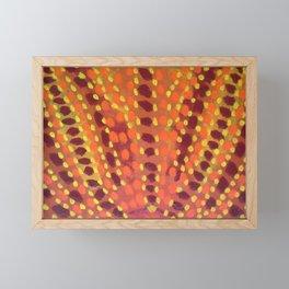 Fire and Flames Framed Mini Art Print