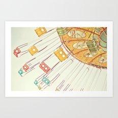 Sea Swings Art Print