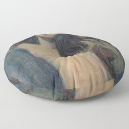 Edvard Munch - Madonna Floor Pillow