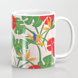 Flowers Pattern Coffee Mug