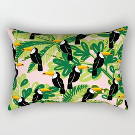 Cute Toucan Rectangular Pillow