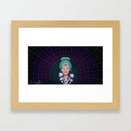 Gaian Mind Framed Art Print