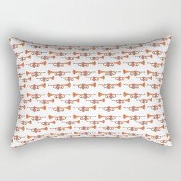 Music, Instrument, Trompet, multicolor, Drawing, BebiCervin Rectangular Pillow