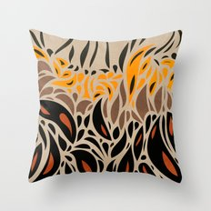 Africa - abstract pattern 01 Throw Pillow