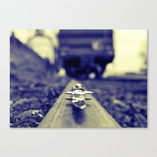Switchblade blurism Canvas Print