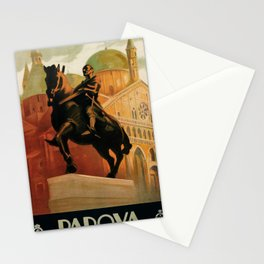 classic poster Padova Stationery Cards