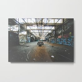 The Living Room Metal Print