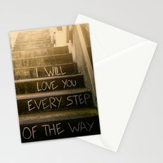 Love Steps Stationery Cards