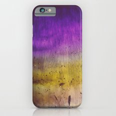Purple and Yellow Frozen in Time iPhone 6s Slim Case