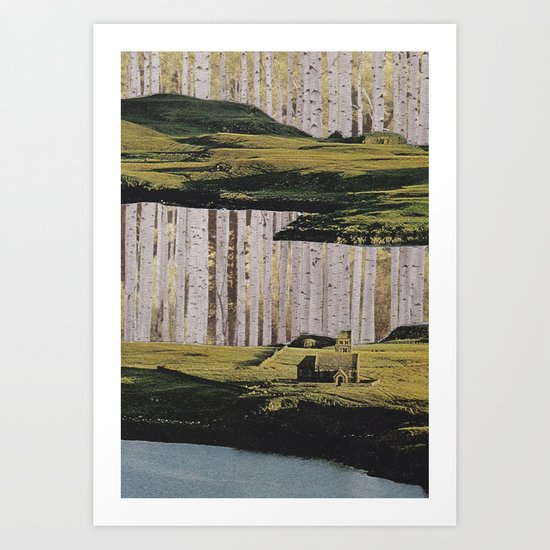 Collage No.51 Art Print