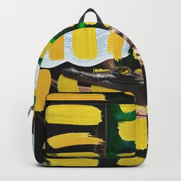 Painted Croc by Ezekiel Kitchen Backpack