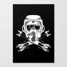 Jolly Biker Canvas Print