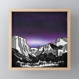Yosemite Framed Mini Art Print