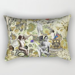 The Muse is Here Rectangular Pillow