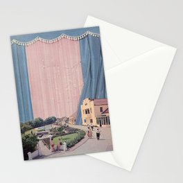 Pink quartz neighbourhood Stationery Cards