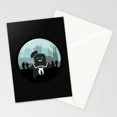 Ghostbusters versus the Stay Puft Marshmallow Man Stationery Cards
