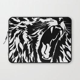 Lion Vector Illustration Laptop Sleeve