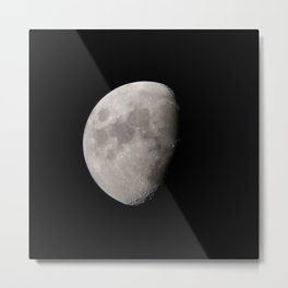 4K Dark Side of the Moon Original Metal Print