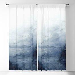 Indigo Abstract Painting | No.2 Blackout Curtain