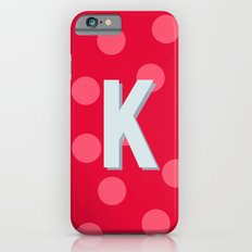 K is for Kindness Slim Case iPhone 6s