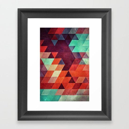 lyzyyt Framed Art Print