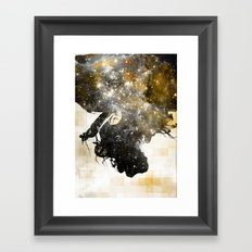 Autumn in the Universe Framed Art Print
