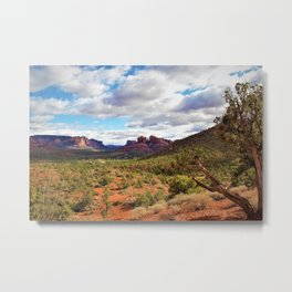 Sedona Landscape by Reay of Light Photography Metal Print