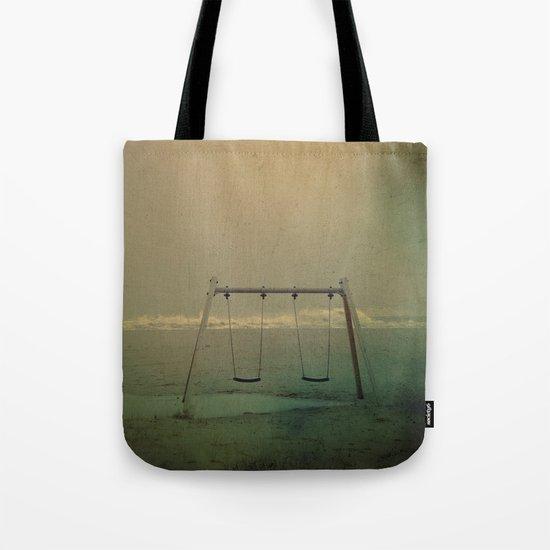Forgotten swings Tote Bag
