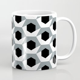 Hex shadow pattern  Coffee Mug